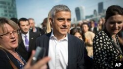 Walikota London, Sadiq Khan (foto: dok).