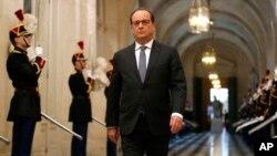 Tổng thống Pháp Francois Hollande sẽ gặp Tổng thống Mỹ Barack Obama tại Tòa Bạch Ốc vào ngày 24/11/2015.