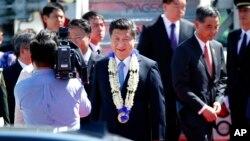 2015年11月17日中国国家主席习近平出席亚太经合组织峰会。