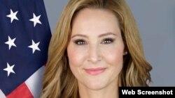 美国国务院全球接触中心(Global Engagement Center)特使兼协调员利亚·加布里埃尔(Lea Gabrielle)