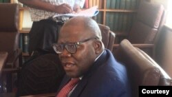 Hon Tendai Biti At Parliament