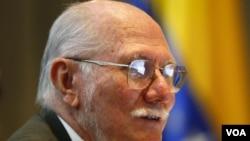"""El ex ministro de Planificación, Jorge Giordani, alerta que está """"en jaque"""" la unidad revolucionaria."""