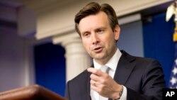 조시 어니스트 백악관 대변인 (자료사진)