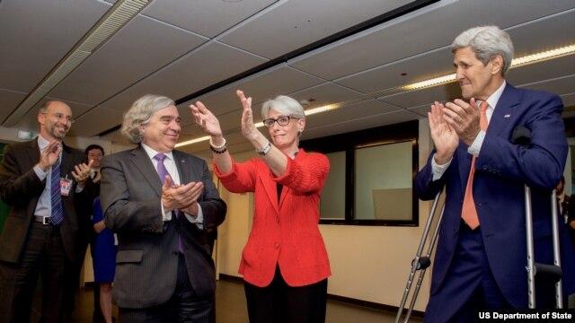 La subsecretaria de Estado de EE.UU., Wendy Sherman, es la principal negociadora estadounidense con Israel.