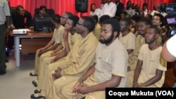 Angolan activists on trial. Nov 16, 2015.