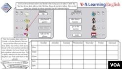 Activity Sheet Lesson 17