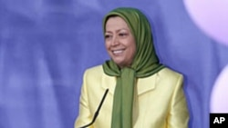 مریم رجوی، رهبر شورای مقاومت سازمان مجاهدین خلق ایران