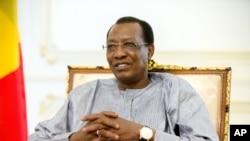 Le président tchadien Idriss Deby Itno, 20 avril 2016