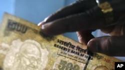بھارتی روپے کی قدر میں مسلسل کمی