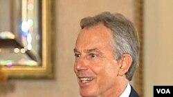 Bivši britanski premijer Tony Blair u intervjuu za Glas Amerike, 23 mart 2010