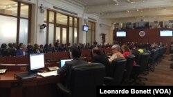 19 países de la OEA votaron el miércoles a favor de convocar a una reunión de consulta de cancilleres del organismo.