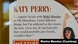 """Kejti Peri je bila jedna od slavnih klijentkinja Marine """"Maki"""" Maoduš"""