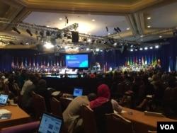 Young African Leaders Initiative summit in Washington, D.C., Aug. 3, 2015. (Photo: Arash Arabasadi / VOA)