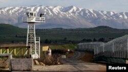 Погранпост на сирийской границе