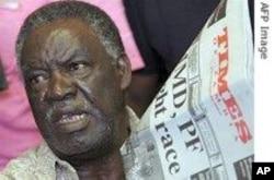Zambian opposition leader Michael Sata