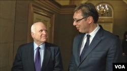 Vučić i Mekejn danas u Senatu