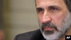 Один из лидеров сирийской оппозиции Моуз ал-Хатиб