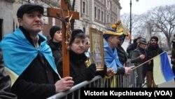 Протест у генконсульства России