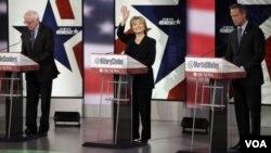 Demokrat partiyasından prezidentliyə namizədlərin debatı