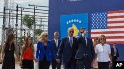 Церемонія іменування шосе на честь Джозефа «Бо» Байдена у Косові