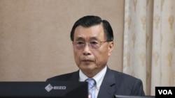 台灣國安局長彭勝竹。(美國之音楊明攝)