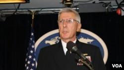 美軍太平洋司令部司令洛克利爾上將(美國之音資料照)