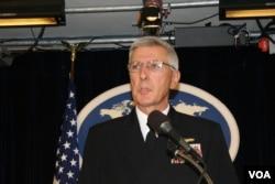 美軍太平洋司令部司令洛克利爾上將(美國之音鍾辰芳)