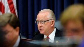 FILE - House Armed Services Committee Chairman Rep. Buck McKeon, R-Calif., during a hearing on Capitol Hill.