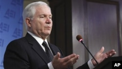 美国防部长盖茨5月24日在美国企业研究所讲话