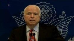 McCain y Graham refuerzan gestiones de la comunidad internacional en Egipto.
