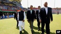جشن پیروزی کریکت هند بر پاکستان