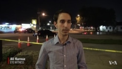 Witness recalls shooting in Orlando Club