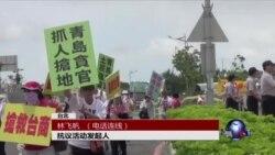 VOA连线:张志军访台 台湾民间抗议如影随形