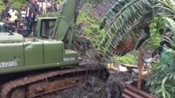 Au moins 8 morts dans l'éboulement d'une décharge après de fortes pluies en Guinée (vidéo)