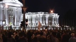 Macedonia Protests - April 21, 2016