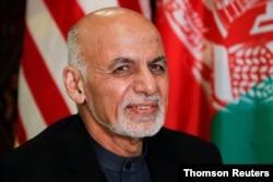 El presidente afgano, Ashraf Ghani, abandonó Afganistán, el 15 de agosto de 2021, tras la llegada de los talibanes a Kabul.