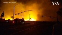 Ще одна пожежа посилилась у Каліфорнії - відео очевидця