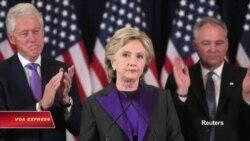 Bà Clinton, màu tím hàn gắn và phụ nữ Việt Nam