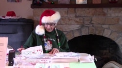Volunteer Elves Answer Letters to Santa Claus