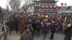 قاسم سلیمانی کی ہلاکت کے خلاف کشمیر میں احتجاج