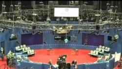 2012-10-16 美國之音視頻新聞: 奧巴馬和羅姆尼備戰第二場辯論