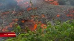 Cảnh báo hàng không do núi lửa Hawaii