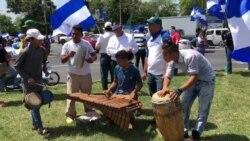 Estudiantes en Nicaragua protestan con música