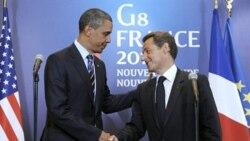 پرزيدنت اوباما: آمريکا و فرانسه مصمم هستند که کار را در ليبی تمام کنند
