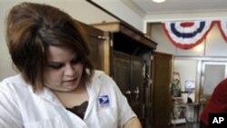 미국 우체국 서비스 (자료사진)