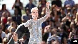Katy Perry será anfitriona de los premios MTV a la música el 27 de agosto de 2017 en Los Ángeles, California.