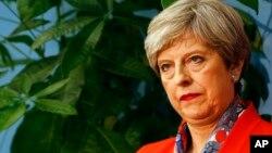 英国现任首相特丽莎·梅。(资料照片)