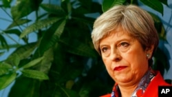 Premye Minis Britanik la, Theresa May
