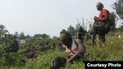 """剛果民主共和國的反政府武裝組織""""M23""""運動在魯丘魯活動"""