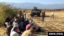 Kurdên Rojava êrîşên Tirkîyê protesto dikin
